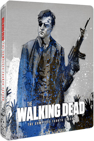 The Walking Dead Season 4 - Zavvi Exclusive Limited Edition Steelbook