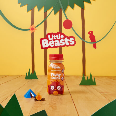 Bebida de Frutas Little Beasts x 6