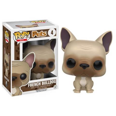 Figurine Pop! Pets Bouledogue Français Funko Pop!