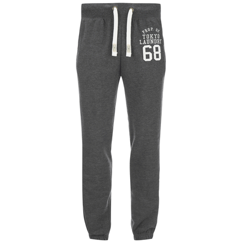 Tokyo Laundry Men's Lewiston Sweatpants - Charcoal Marl