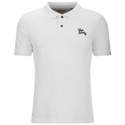Tokyo Laundry Men's Whidbey Pique Polo Shirt - Optic White