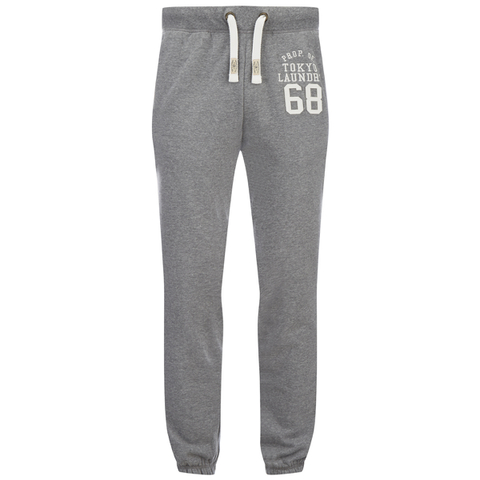 Tokyo Laundry Men's Lewiston Sweatpants - Mid Grey Marl