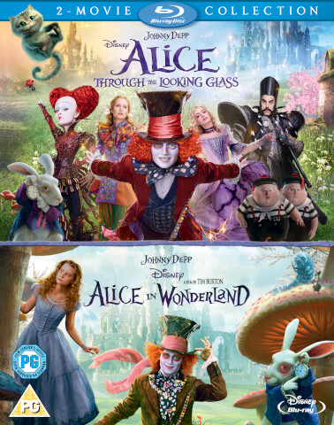 Alice Through the Looking Glass/Alice In Wonderland Double Pack