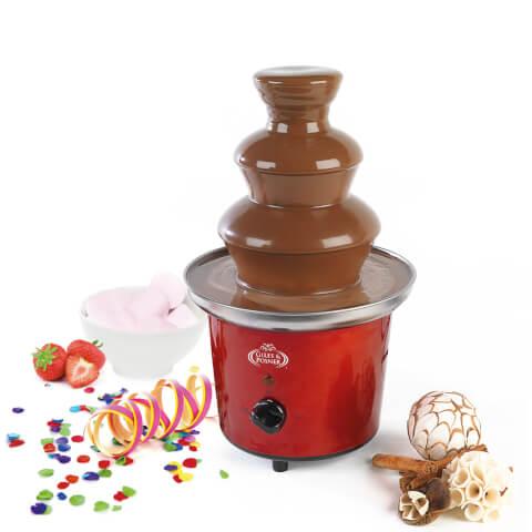 Giles & Posner EK1525 Chocolate Fountain - Red