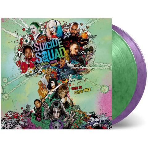 Suicide Squad - Limited Edition Coloured Vinyl OST (2LP)