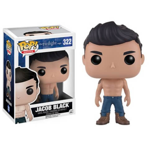 Twilight Jacob Black Shirtless Pop! Vinyl Figure