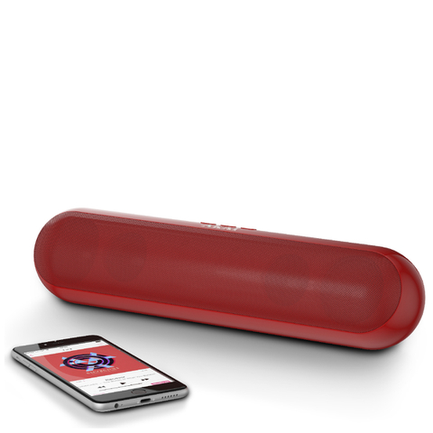 Akai XL Bluetooth Capsule Speaker - Red