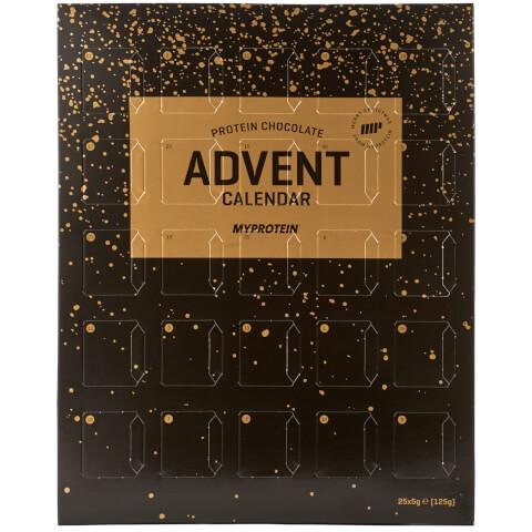 Adventní kalendář s proteinovou čokoládou