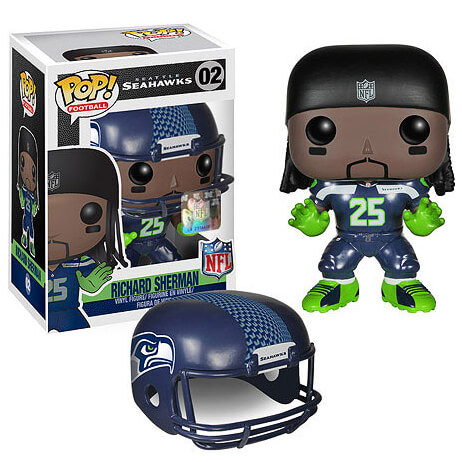 Figurine Pop! NFL Richard Sherman 1ère Vague