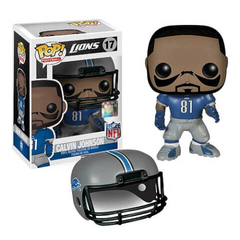 NFL Calvin Johnson Wave 1 Pop! Vinyl Figure