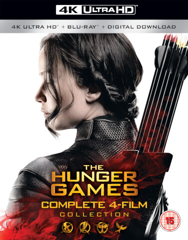 The Hunger Games Complete Collection - 4K Ultra HD