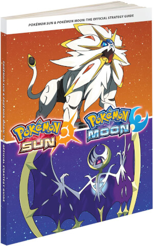 Pokemon Moon & Pokemon Sun Official Strategy Guide