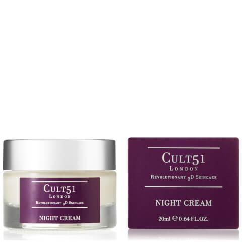 CULT51   CULT51 Night Cream 20ml   Goxip
