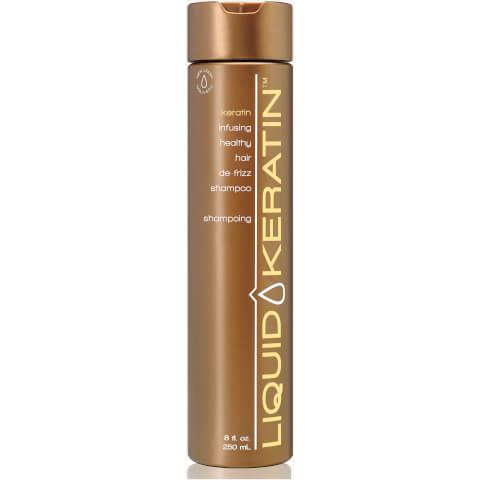 Liquid Keratin Infusing Healthy Hair De-Frizz Shampoo (8oz)