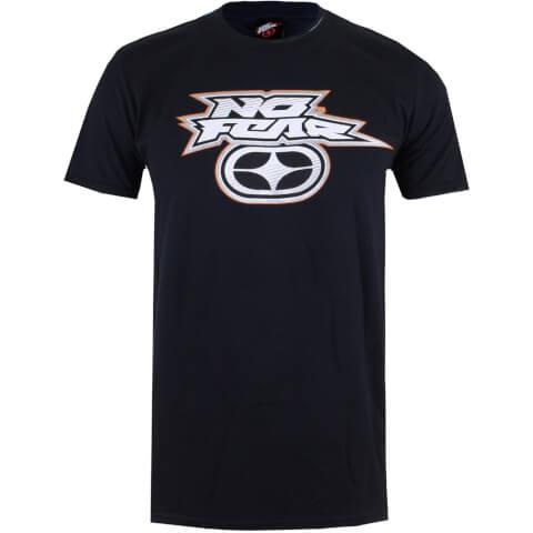 Camiseta No Fear Logo Reflectante - Hombre - Negro