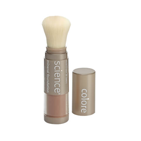 Colorescience SPF 20 Loose Mineral Foundation Brush - Taste Of Honey