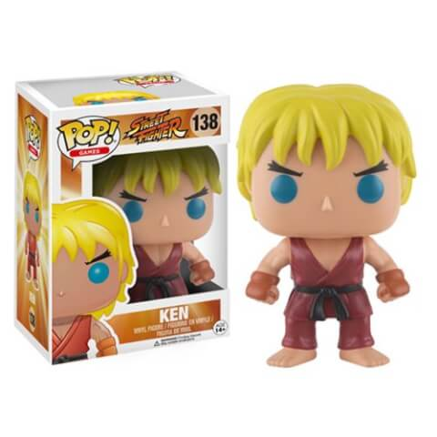Figura Pop! Vinyl Ken - Street Fighter