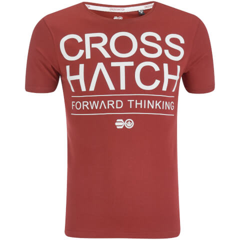 Crosshatch Men's Roshaun T-Shirt - Syrah