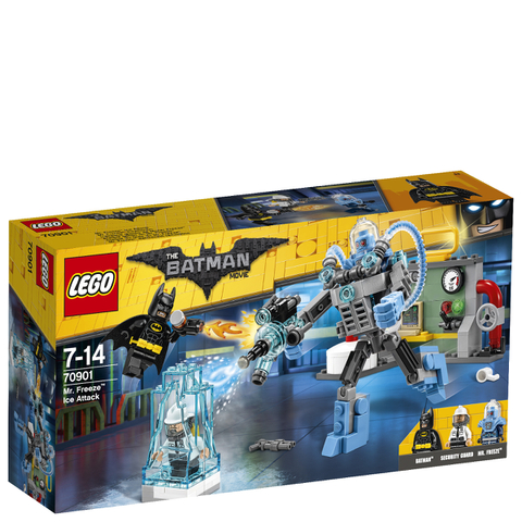 LEGO Batman Movie: L'attaque glacée de Mister Freeze™ (70901)
