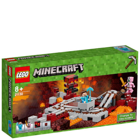LEGO Minecraft: The Nether Railway (21130)