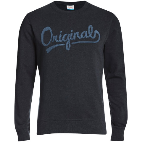 Jack & Jones Men's Originals Anything Graphic Sweatshirt - Total Eclipse
