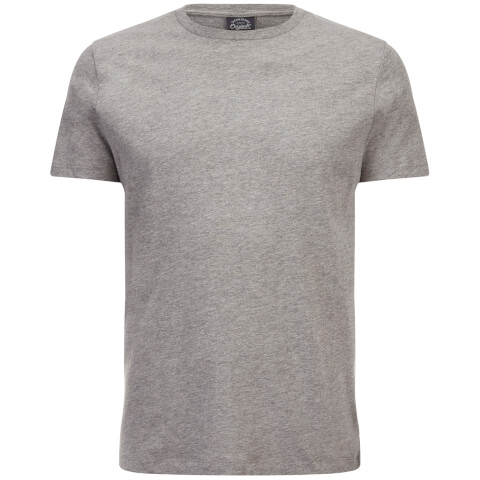 Jack & Jones Men's Originals Classic T-Shirt - Light Grey Marl