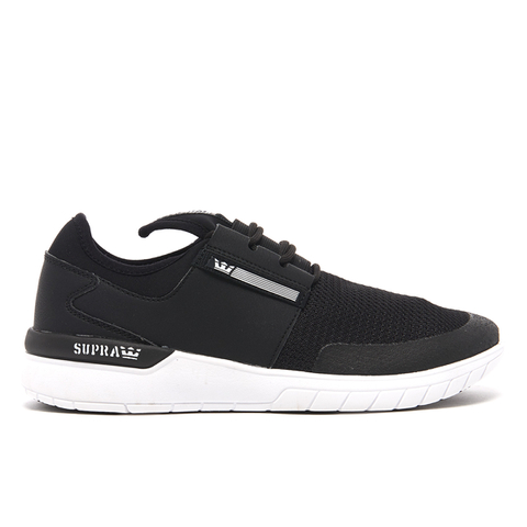 Supra Men's Flow Run Trainers - Black/White