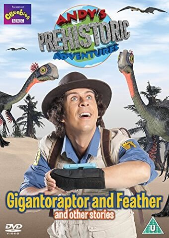 Andy's Prehistoric Adventures - Gigantoraptor & Feather