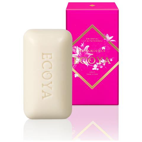 ECOYA Botanicals Evolution Oriental Lily and Patchouli Soap