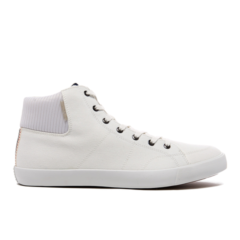 Jack & Jones Men's Dunmore Mid Top Trainers - White