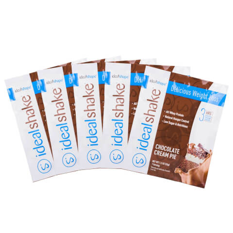 5 IdealShake Chocolate Cream Pie Samples