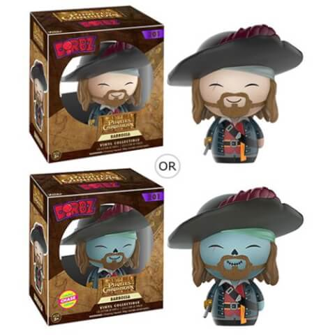 Pirates of the Caribbean Barbossa Dorbz Vinyl Figure