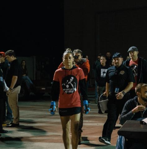 Kaytlin's Fight Shirt Women's