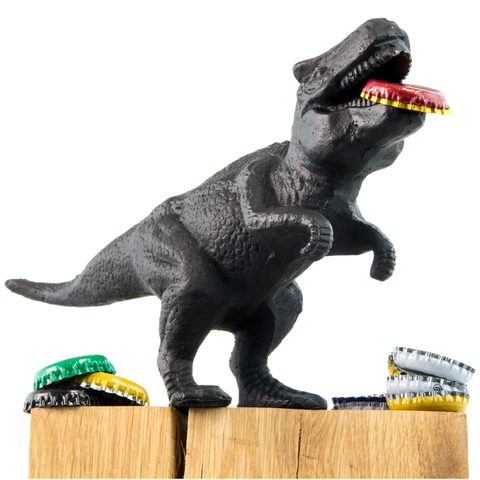 Dinosaur Bottle Opener - Black
