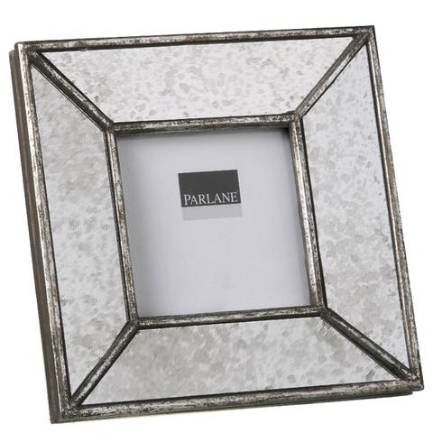 Parlane Square Deco Resin Frame - Silver (19.5 x 19.5cm)