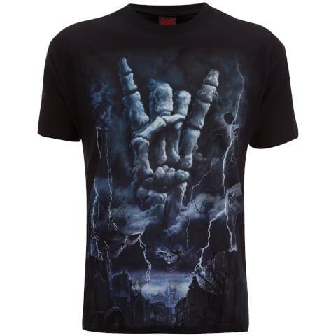 T-Shirt Homme Spiral Rock Eternal -Noir