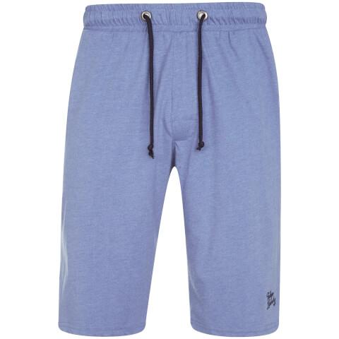Tokyo Laundry Men's Greenbury Lounge Shorts - Cornflower Blue Marl