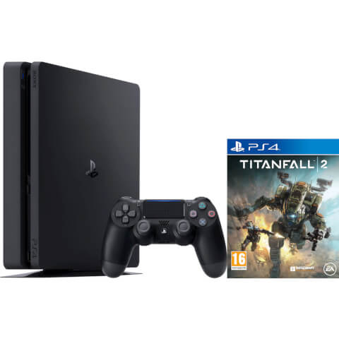 Sony Playstation 4 Slim 500GB Console - Includes Titanfall 2