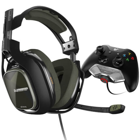 A40 TR Headset + Mixamp M80 Green