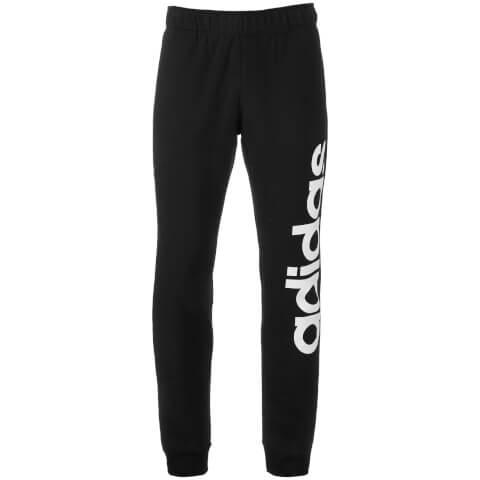 Pantalon de Survêtement Homme Adidas -Noir