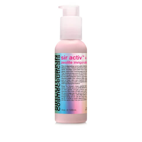 Sircuit Skin SIR ACTIV Zeolite Invigorating Scrub - 4 oz