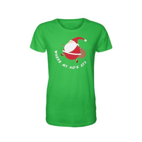 T-Shirt Fat Santa -Vert