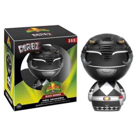 Figurine Dorbz Power Rangers Noir - Mighty Morphin'