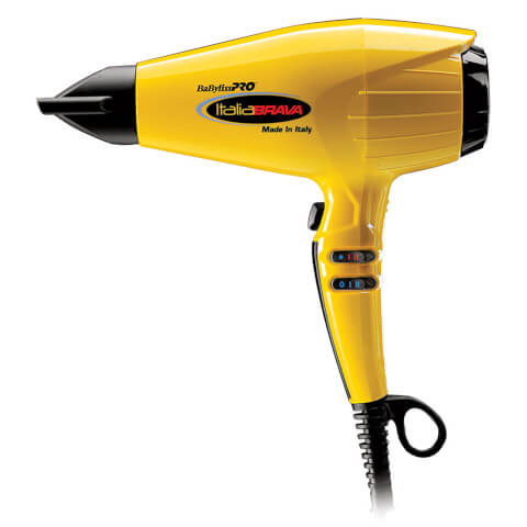 Babyliss PRO ItaliaBrava Professional Ferrari Hair Dryer - Yellow