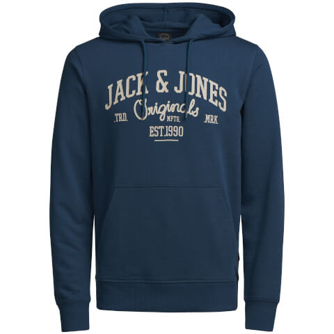 Sweat à Capuche Homme Originals Diego Jack & Jones - Bleu
