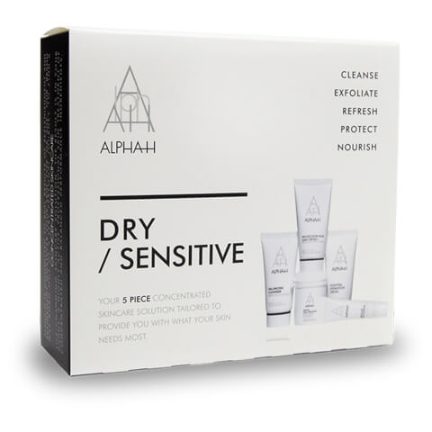Alpha-H Dry/Sensitive 5 piece Skincare Kit
