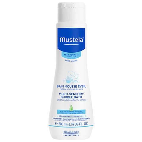 Mustela Multi Sensory Bubble Bath 6.76 oz.