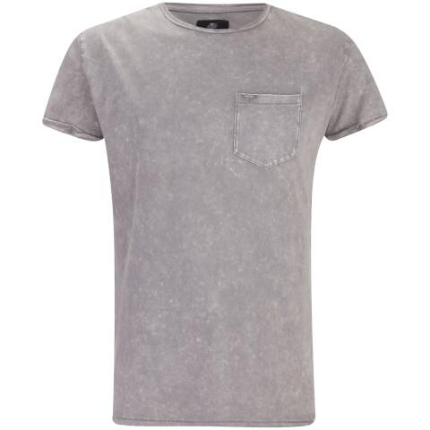 T-Shirt Homme Eureka Poche Threadbare -Gris