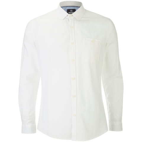 Chemise Manches Longues Butterbean Threadbare -Blanc