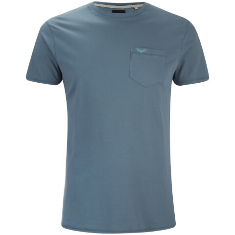Threadbare Men's Jack Crew Neck Pocket T-Shirt - Denim